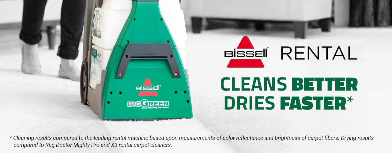 Bissell Carpet Cleaner available at all our location