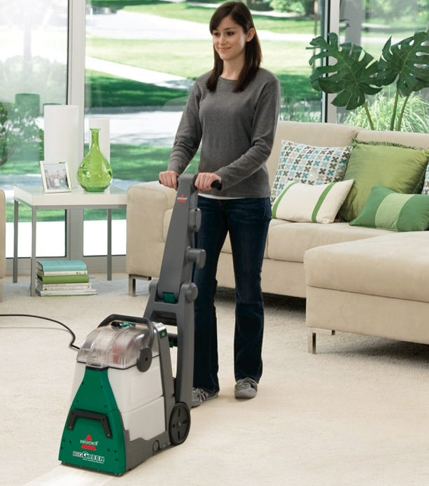 Bissell Big Green Cleans Better and Dries Faster